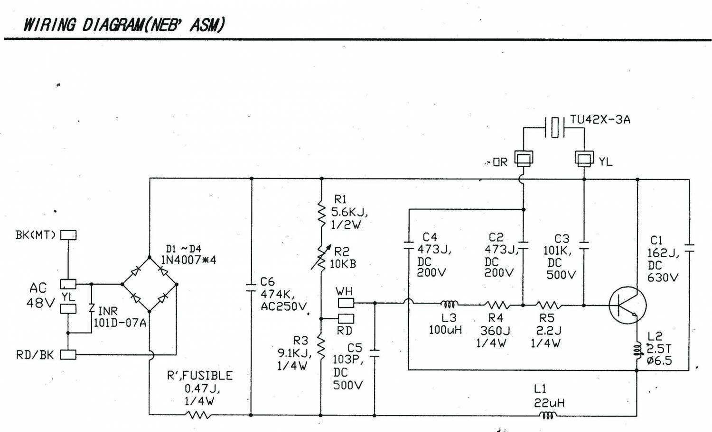 Схема ультразвукового увлажнителя воздуха своими руками