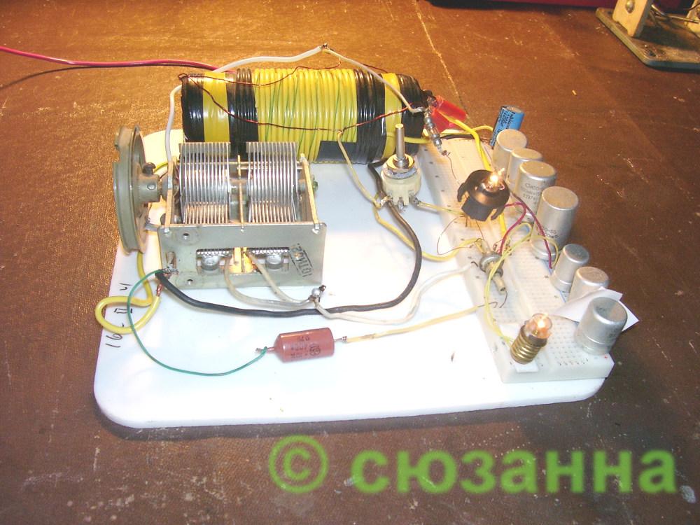 Схема генератора сюзанны