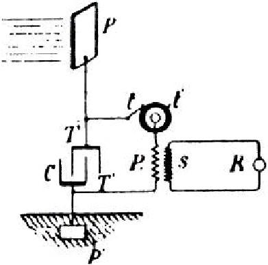 Схема радиантной цепи Теслы