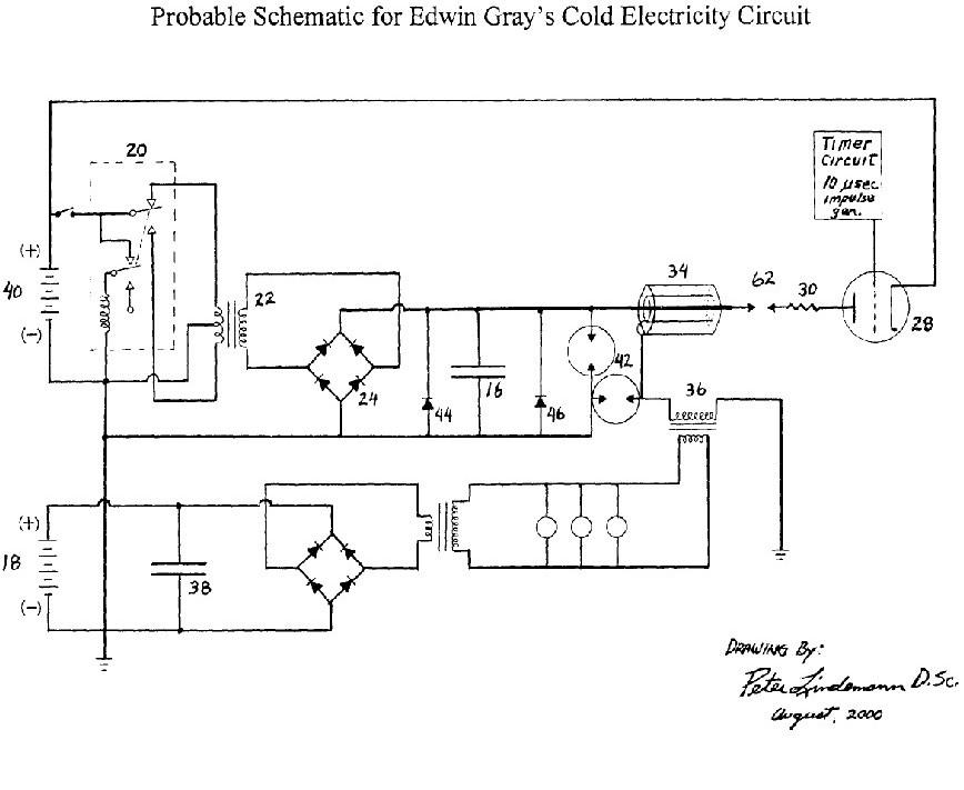Схема электричество из воздуха